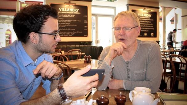 Meetup Steve & Kai London (3)